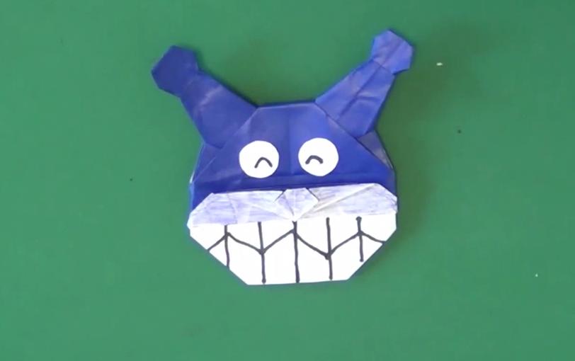 折り紙の 折り紙 バイキンマン : origaminomori.com