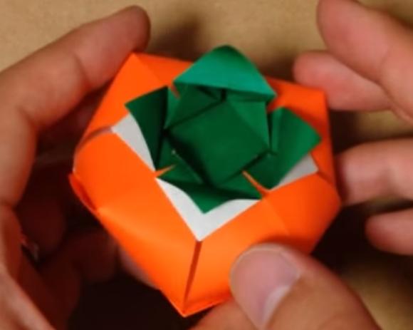 ハート 折り紙:果物 折り紙-origaminomori.com