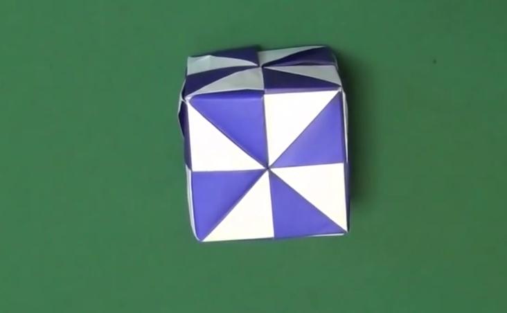 クリスマス 折り紙 折り紙 入れ物 : origaminomori.com