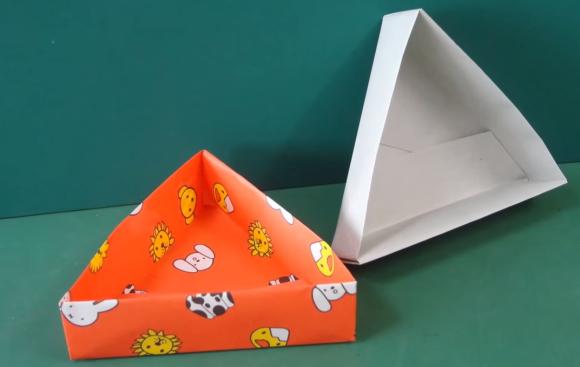 ハート 折り紙 折り紙 箱 正方形 : origaminomori.com